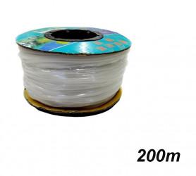 Silikonová vzduchovací hadička 4/6 mm - cena za celé klubo 200 bm