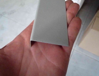 Lišta koutová vnější - rozvinutá šíře 70 mm / 2 m délka - kusový prodej