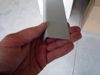 Lišta koutová vnitřní - rozvinutá šíře 70 mm / 2 m délka - kusový prodej