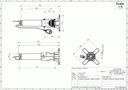 Oase ProMax Pressure Cistern 6000/6