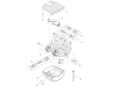Oase AquaMax Eco Twin 20000 profi jezírkové čerpadlo