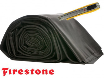 Kaučuková jezírková fólie 1,02 mm / 6,10 m šíře EPDM Firestone PondGard